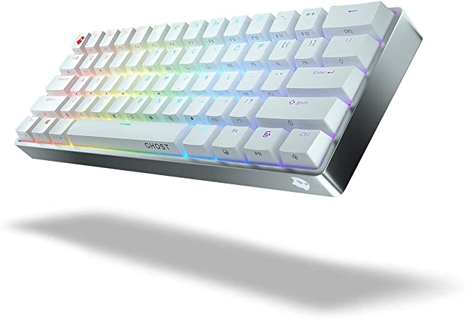 Ghost A1 - Aluminum Wireless Keyboard White Cherry MX Brown ...