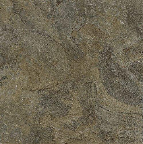 Armstrong Mesa Stone Alterna Vinyl Tile Flooring, Moss