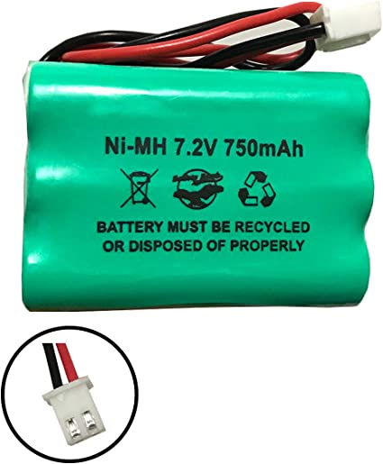 Sanyo 6HRAAAU34051 ADT 6HR-AAAU Iti 34-051 ITI 34-051 Emergency//Exit Lighting Battery Fits and Replaces Interstate ANIC0191 Sanyo 34051 Sanyo 6HRAAAU