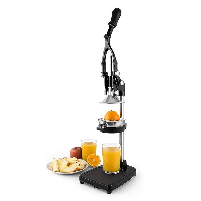 Compra Klarstein TriJuicer 3-en-1 • Exprimidor Manual • Zumo de Naranjas • Corta Manzanas y Patatas • Palanca • Silencioso • Plástico ABS • Desmontable ...