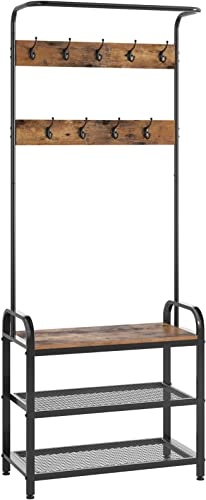 Kings Brand Furniture – Amare Serving Bar Cart Kitchen Trolley, Gold Metal Black Glass
