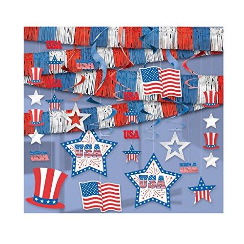 Uncle Sam Decorating Kit - 21 Pieces