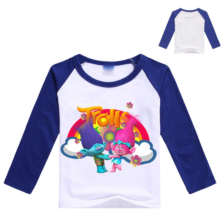 PCLOUD Childrens Trolls Purified Cotton T-Shirt