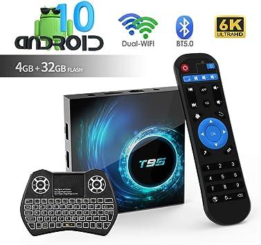 Android TV Box T95 Android 10.0 TV Box 4 GB RAM / 32 GB ROM H616 Quad