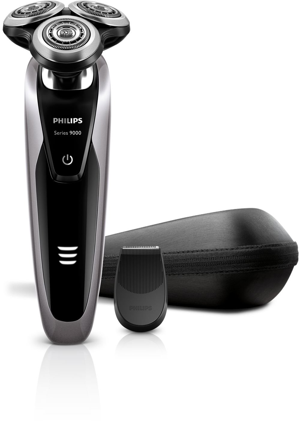 10c88cd33 Philips S9111 S9111/12 Series 9000 Face Wet and Dry Electric Shaver with  Detail Trimmer (100-240V)