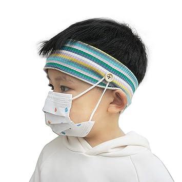 Amazon Com Children Soft Elastic Hair Band Sports Headbands No