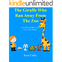 Children's book: The Giraffe Who Ran Away From The Zoo; a find and point book.