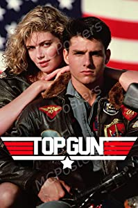 "MCPosters - Top Gun Glossy Finish Movie Poster - MCP691 (24"" x 36"" (61cm x 91.5cm))"
