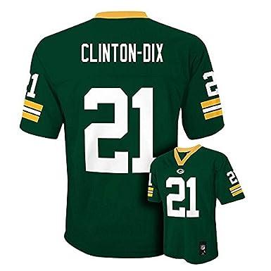ece4688c891 Ha Ha Clinton-Dix Green Bay Packers NFL Youth Green Home Mid-Tier Jersey
