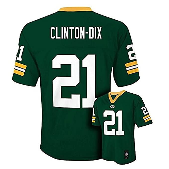 wholesale dealer 0c9a4 b63c0 Ha Ha Clinton-Dix Green Bay Packers NFL Youth Green Home Mid-Tier Jersey