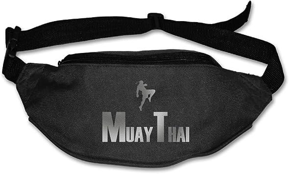 I Muay Thai Sport Waist Bag Fanny Pack Adjustable For Travel