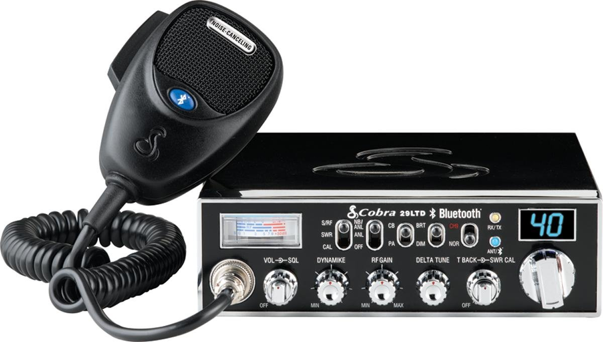Amazon.com: Cobra Electronics CBR29LTDCHR 40-Channel CB Radio With PA  Capability: Car Electronics
