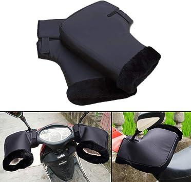 Lenkerstulpen Handwärmer gefüttert Roller Quad Scooter Regen Kälte Wind Schutz