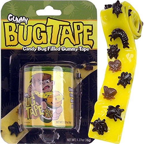 Bug Tape - Candy Bug Filled Gummy Tape Single Pack ()