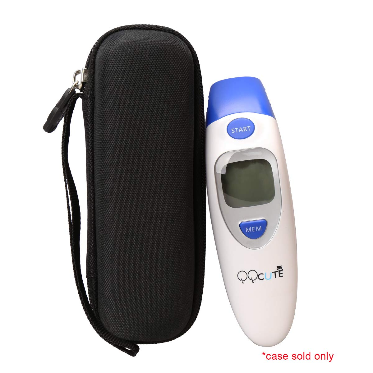 Hard Carrying Travel Case Bag for QQcute Digital Infrared Forehead Thermometer by Aproca by Aproca (Image #6)