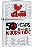 ZIPPO(ジッポー) ライター 2019 アーティストモデル コレクション ウッドストック フェス50周年モデル ホワイトマット 49012