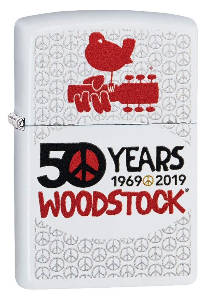 Zippo Woodstock Pocket Lighter by Zippo