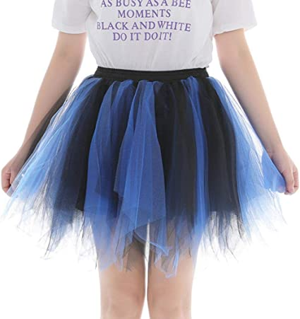 BURFLY Little Girls Tutu Skirts LED Light Up Pettiskirt Ballet Dance Skirts Pleated Gauze Party Skirts