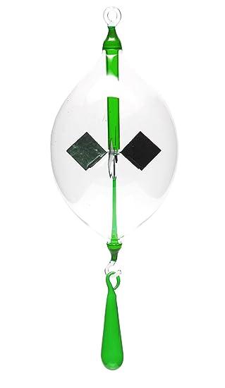 Lichtmühle Solar Radiometer Kette 4teilig grün Lichtmühlen von GlasXpert