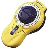 ダイモ テープライター キュティコン 9mm幅テープ対応 英数字、打刻可能 イエロー DM20008