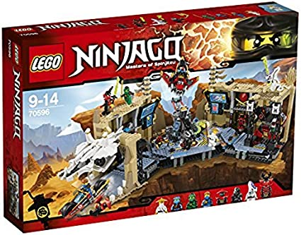 Amazon.com: Juguete LEGO Ninja Go base ninja X70596: Toys ...