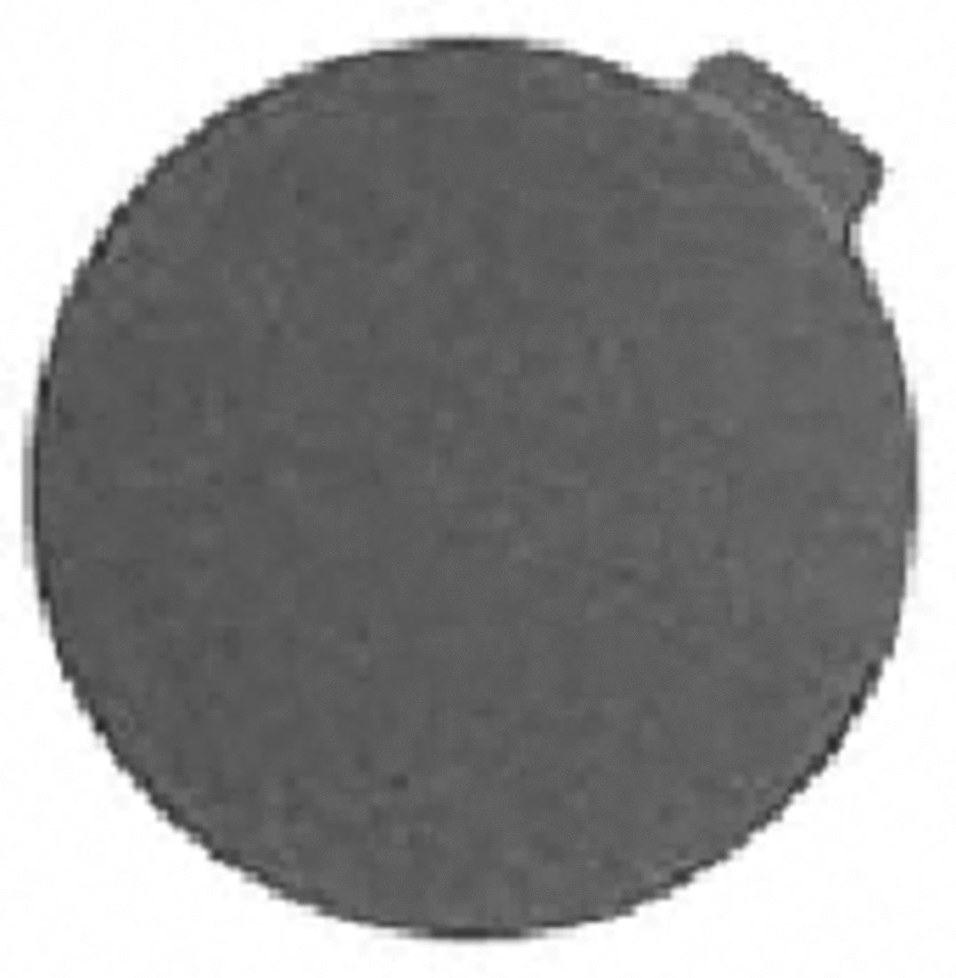 CRL 5'' 60 Grit ''PSA'' Stick-On Sanding Discs - 50 Pack