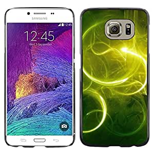 TopCaseStore / la caja del caucho duro de la cubierta de protección de la piel - Nature Beautiful Forrest Green 59 - Samsung Galaxy S6 SM-G920