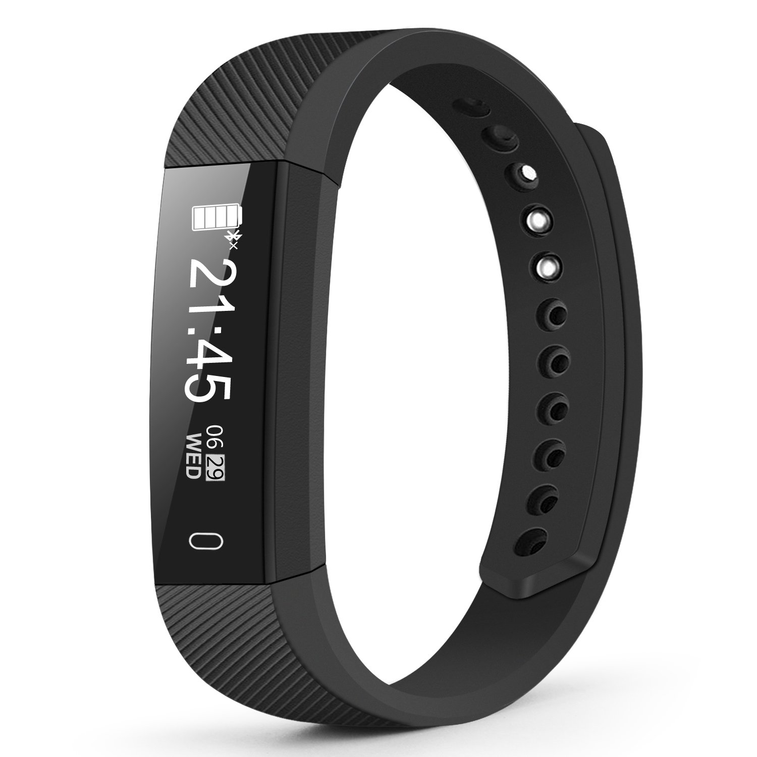 Fitness Tracker, Weesound Smartwatch and Watch Cell Phone Black for iPhone, Android, Samsung, Galaxy Note, Nexus, HTC, Sony