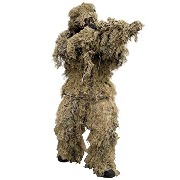 Mil-Tec Ghillie Traje 4 pcs. Digital Desert: Amazon.es ...