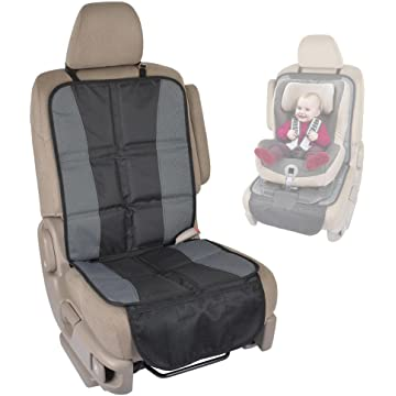 best BDK SC058 1 Piece InstaSeat Protectors Child & Baby Seats-Premium Non-Slip Backing Protects Vehicle Interior for Car SUV Van Truck reviews