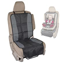 BDK SC058 1 Piece InstaSeat Protectors Child & Baby Seats-Premium Non-Slip Backing Protects Vehicle Interior for Car SUV Van Truck