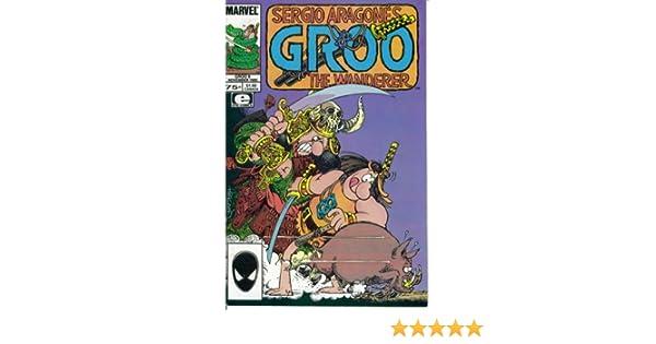 GROO THE WANDERER #8 VERY FINE 1985 EPIC COMICS SERGIO ARAGONES