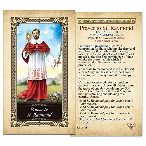 st-raymond-laminated-holy-card-pack-of-10