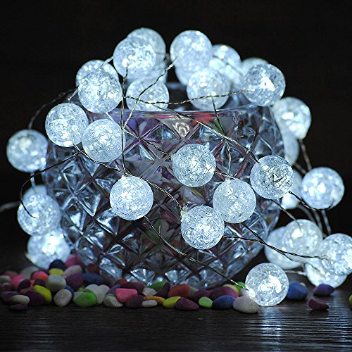 Christmas Sphere Lights For Outdoor Trees in US - 7