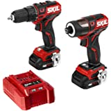 Black//Grey Sumec North America Force PT100118 18-Volt NiCad Cordless Drill With Battery