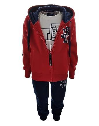 Fashion Boy - Chándal - para niño Rojo 10 años: Amazon.es: Ropa y ...