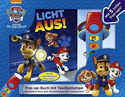 PAW Patrol, Licht aus! - Pop-up-Buch mit Taschenlampe - Bilderbuch mit 5 coolen Geräuschen