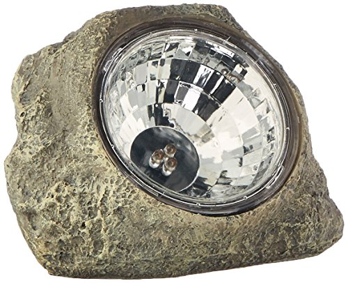 Creative Motion Solar Stone Landscape Light