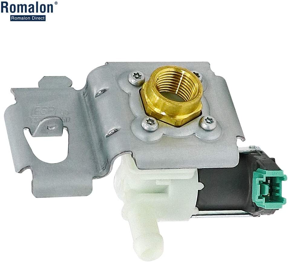 Water Inlet Valve W10158389 for Whirlpool Kenmore Dishwasher 8558986, 8558987, 8558988, W10158387, W10158389