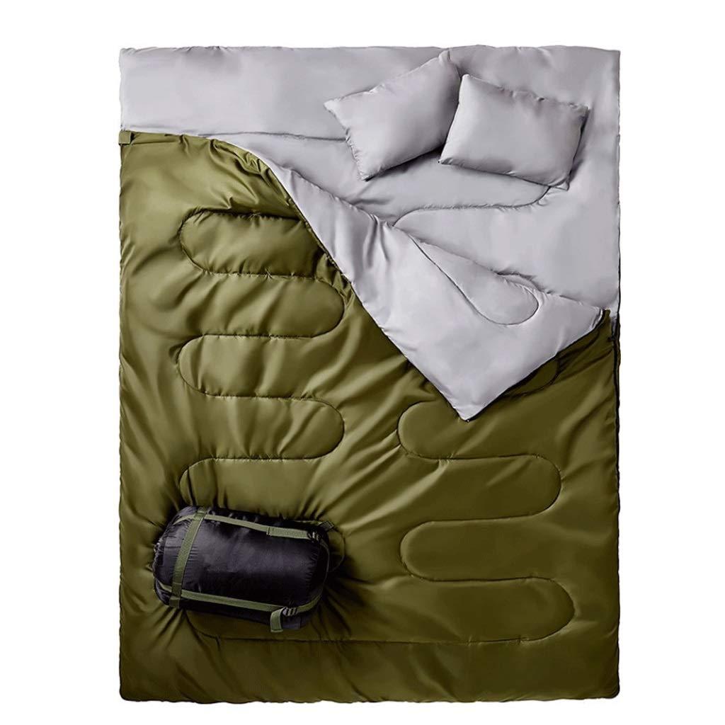 RXF Doble Bolsa de Dormir Engrosamiento de la Envolvente con ...
