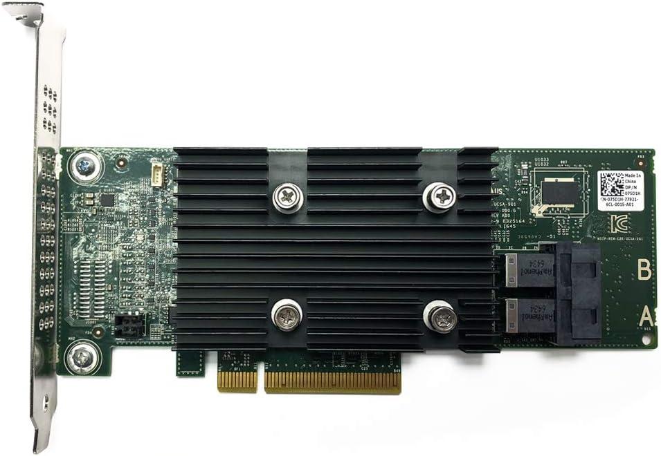 Dell 75D1H PERC H330 PCI-E X8 12GBPS RAID Controller Card D/PN: 075D1H