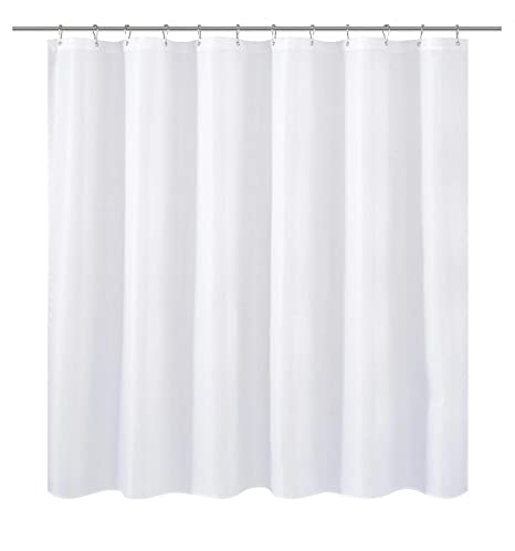 NY HOME Extra Wide Fabric Shower Curtain Or Liner 108 X 72 Inches