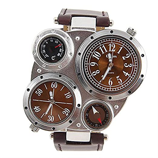 Hermosos Relojes 2018 Deportivo Reloj Oulm Moda Reloj Reloj Deportivo: Amazon.es: Relojes