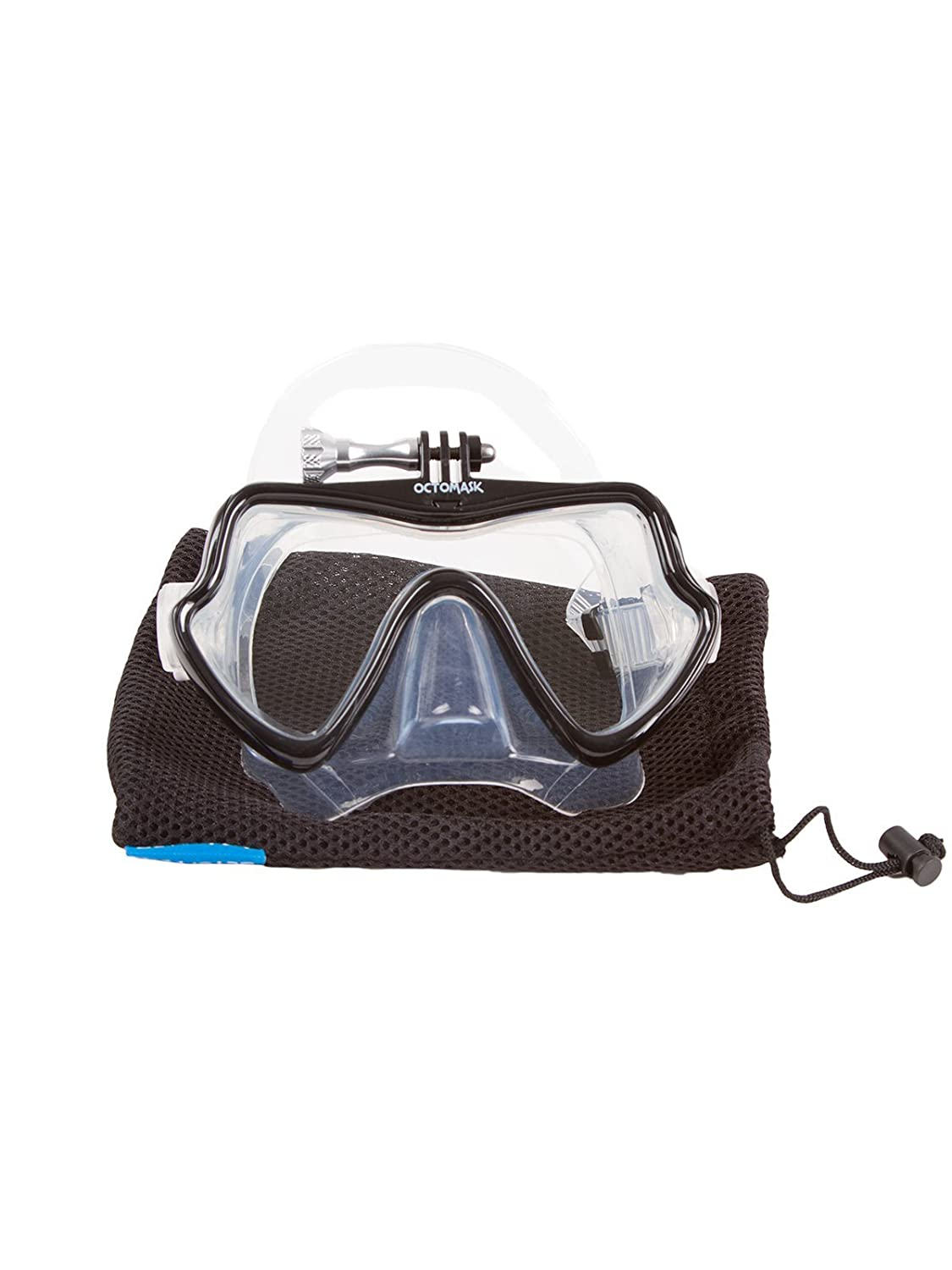 d94add81e8f8 Frameless Dive Mask for Scuba Diving and Snorkeling 201 Compatible with Gopro  OCTOMASK