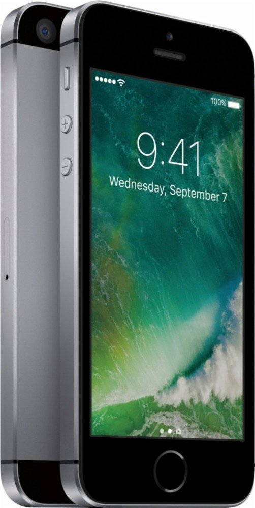 BRAND NEW APPLE IPHONE SE 32GB - AT&T (LOCKED) - GRAY - INCLUDES APPLE WARRANTY