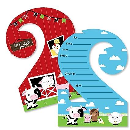 Amazon 2nd Birthday Farm Animals
