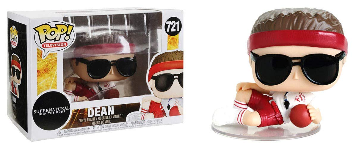 Funko Pop! Supernatural Gym Teacher Coach Dean 721 Exclusive Vinyl Figure