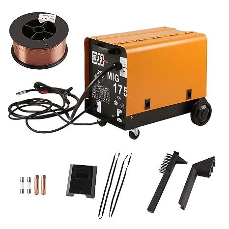 Funnyrunstore MIG-175 Monofásico Ventilador de Enfriamiento de Alambre Portátil Estable Máquina de Soldadura Apantallada