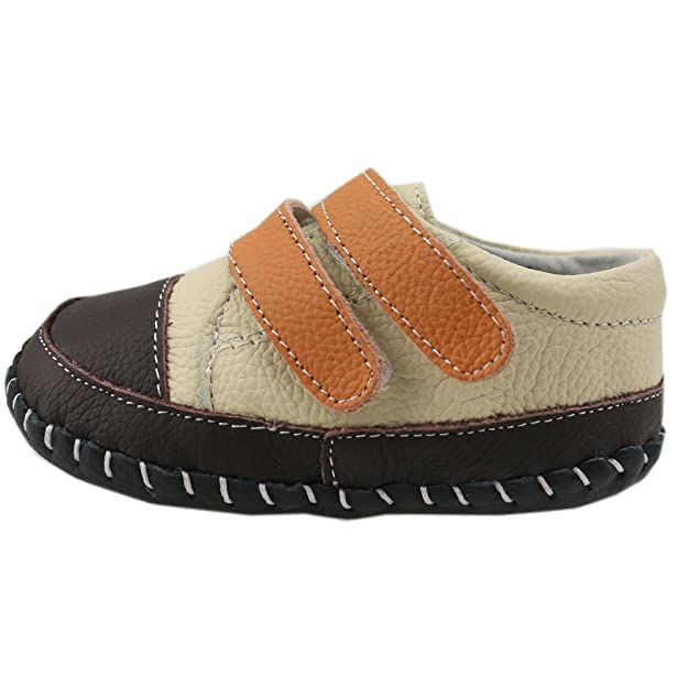 97b7f2ad43ea3 Orgrimmar Baby Boys Girls First Walkers Soft Sole Leather Baby Shoes