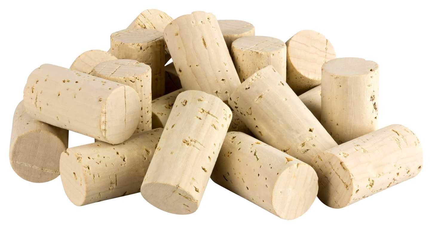 50 NEW Natural Wine Corks (Straight) for craft or decoration (winecorks, cork) Kork-Deko